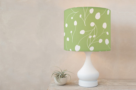 Posy Florets Self Launch Drum Lampshades