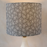 Perfect Paisley Self Launch Drum Lampshades