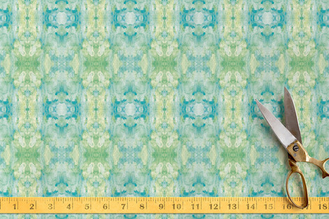 Merging Watercolors Fabric