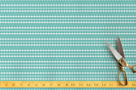 Seafarer Square Fabric