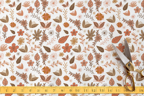 flower designs Fabric
