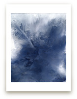 indigo exhale! Wall Art Prints