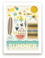 4 Seasons : Summer Wall Art Prints