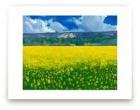 Calistoga Mustard by Robert Deem