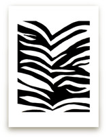 Zebra Stripes Wall Art Prints