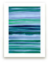Stripes du Jour #1 by Monica Janes Fine Art