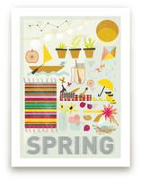 4 Seasons : Spring Wall Art Prints