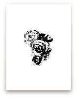 Ink Flowers No.16 by Parima Studio