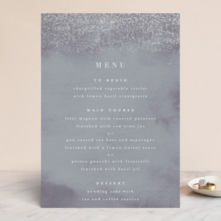 Dusted Gloss-Press™ Menus