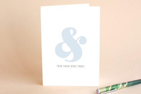 And Then There Were 3 Greeting Cards