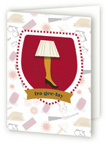 That Christmas Story Badge Holiday Cards