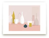 Yellow & Pink Still Lif... by Francesca Iannaccone