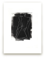 Woman Abstracted by Allison Belolan