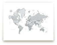 Dominique world map