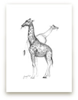 Topeka Zoo Giraffe by Tracy Ann