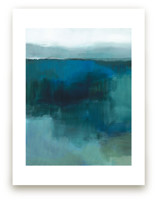 Blue Marshland by Alison Jerry Designs