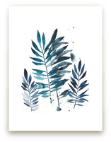 Indigo Foliage by Kara Aina