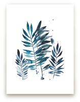 Indigo Botanical by Kara Aina