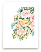 Abigail watercolor bouquet