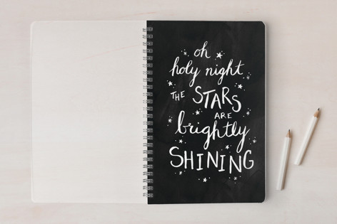 Oh Holy Night Notes Notebooks