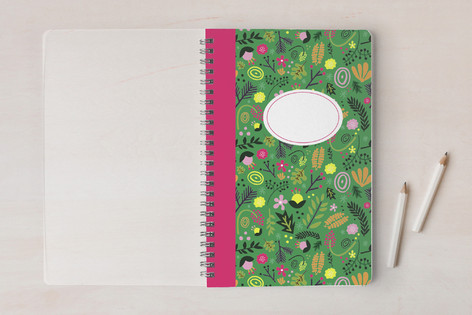 Floral Collage Notebooks