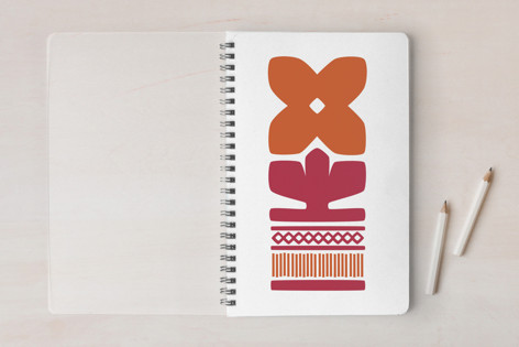 Nordic Orange Notebook Notebooks