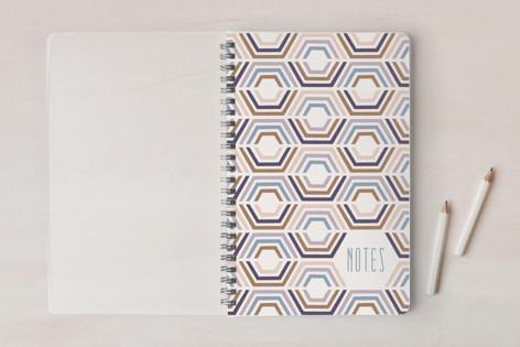 Divided Hexagons Journal Notebooks