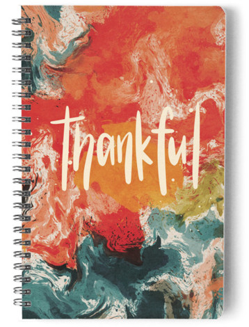 Abstract Sunset Marketplace Day Planner, Notebook, Or Address Book