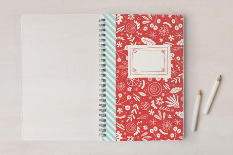 Vintage Floral Notes Notebooks