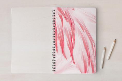 Flamingo Feathers Notebooks