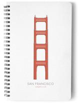 San Francisco's Golden Gate Bridge Notebooks