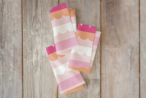 Bold Lines Self Launch Napkins