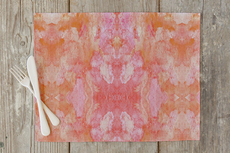 Simply Sorbet Self Launch Placemats