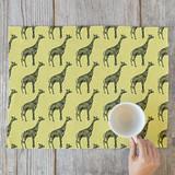 Designer Giraffe  Self Launch Placemats