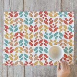 Summer Leaves Self Launch Placemats
