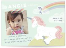 i believe in unicorns Custom Stationery