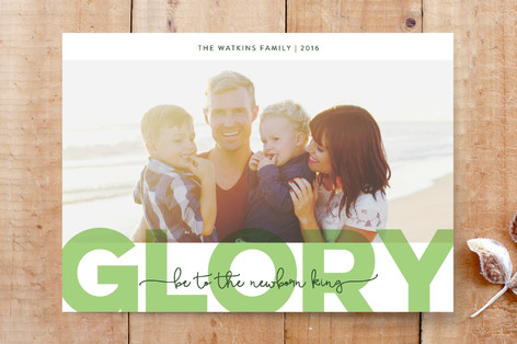 Glory Be Custom Stationery