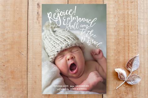 Rejoice Emmanuel Custom Stationery