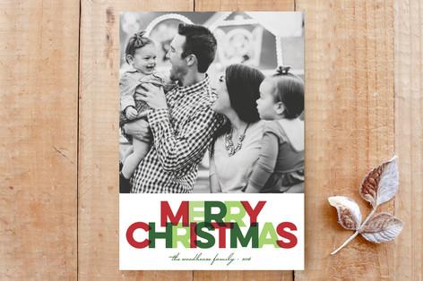 Bright Christmas Custom Stationery