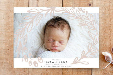 Flourishing Frame Custom Stationery
