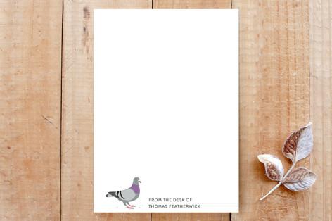 Pigeon Custom Stationery