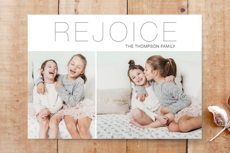 Philippians Rejoice Custom Stationery