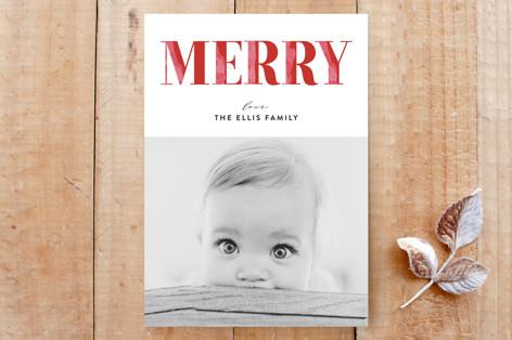 Merry in Edges Custom Stationery