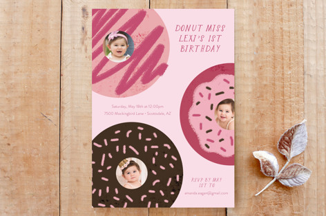 Donut Miss Out Custom Stationery