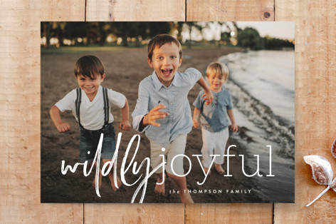 wild and joyful Custom Stationery