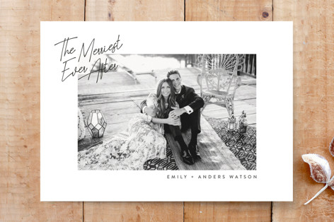Merriest Ever After Custom Stationery