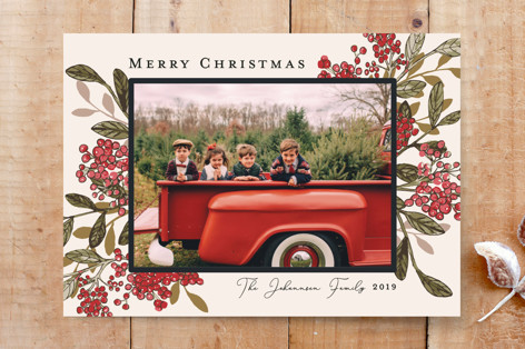 Christmas on the Farm Custom Stationery