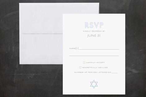 Called Mitzvah RSVP Cards