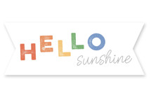 Rainbow Sunshine Type by Janelle Wourms