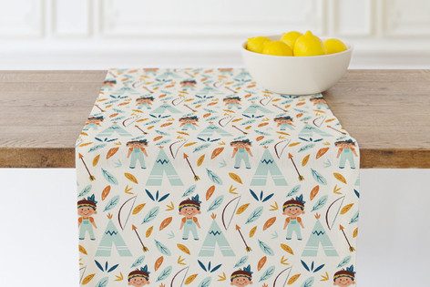 Tepee Self Launch Table runners